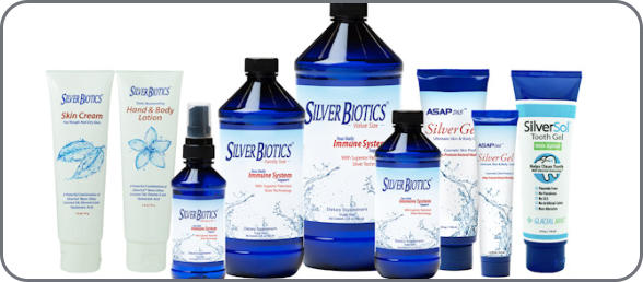 Silver Biotics and ASAP Silver Gel Products